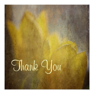Daffodil Dreams Thank You Cards 13 Cm X 13 Cm Square Invitation Card