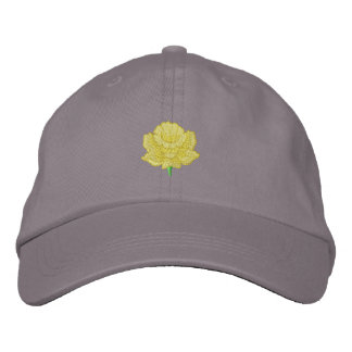 Daffodil Embroidered Cap