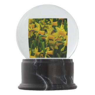 Daffodil Family Snow Globe