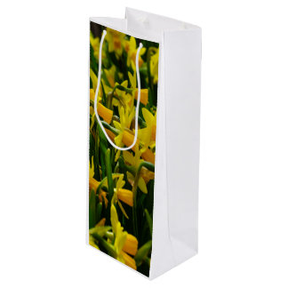 Daffodil Family Wine Gift Bag