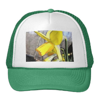 Daffodil In The Spring Woodlands Mesh Hat