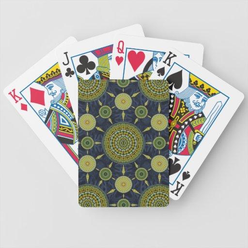 Daffodil Mandala  Array Cards Card Decks