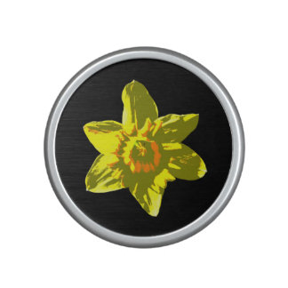 Daffodil On Black - Speaker