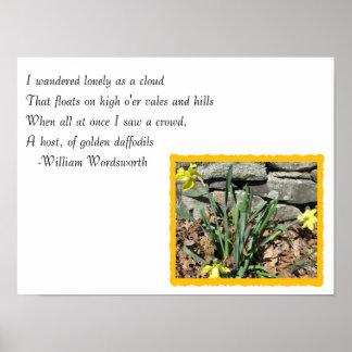 Daffodil Poem Poster