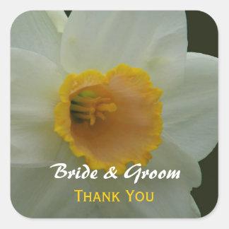 Daffodil Thank You Sticker