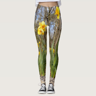 Daffodils at Easter Leggings