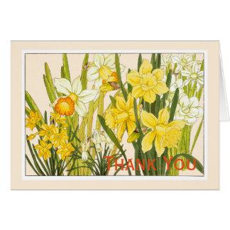 Daffodils, Botanicals Card - Customise Greeting
