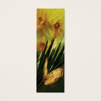 Daffodils - First Flower Of Spring Bookmark Mini Business Card