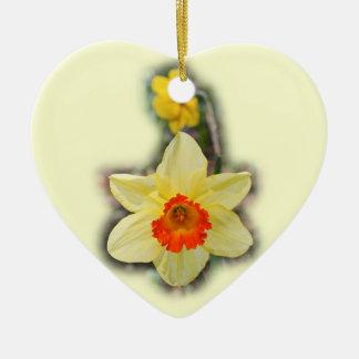 Daffodils for the cut... ceramic ornament
