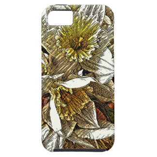 Daffodils growing on your phone case for the iPhone 5
