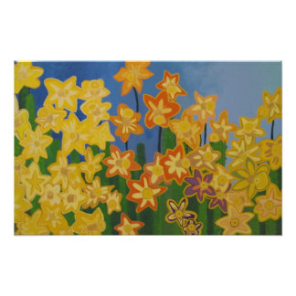 Daffodils of My Love for Shelly Photo Print