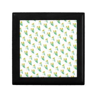 Daffodils Pattern Gift Box