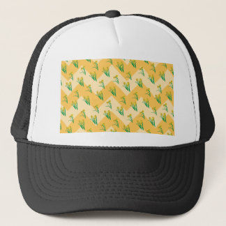 Daffodils Pattern Trucker Hat