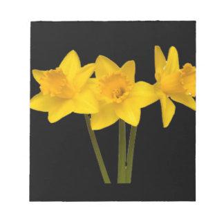 """Daffodils"" Scratch Pad"