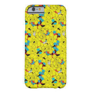 Daffodils spring floral pattern barely there iPhone 6 case