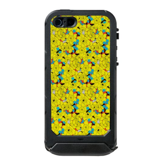 Daffodils spring floral pattern incipio ATLAS ID™ iPhone 5 case
