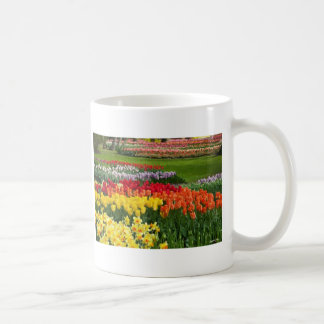 Daffodils Tulips Hyacinths Painterly Coffee Mugs