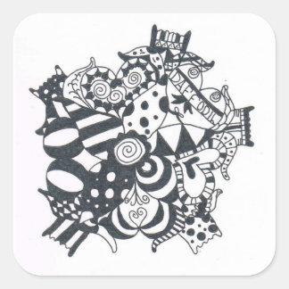 DaffodilwithLove Square Sticker