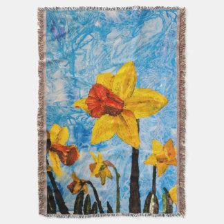 Daffy Daffs of Spring Throw