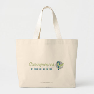 DAFFY DUCK™ Consequences Schmonsequences Large Tote Bag