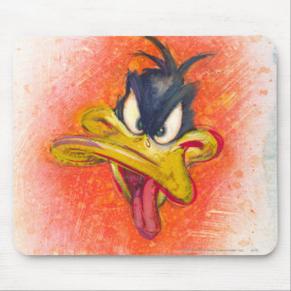 Daffy Duck in Orange Mousepad
