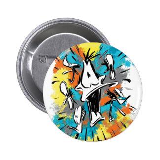 DAFFY DUCK™ Oh My Quaaak 6 Cm Round Badge