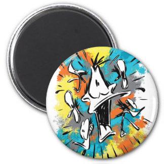 DAFFY DUCK™ Oh My Quaaak 6 Cm Round Magnet