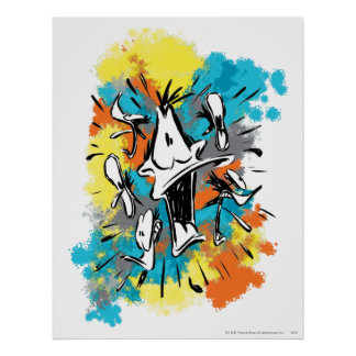 DAFFY DUCK™ Oh My Quaaak Poster