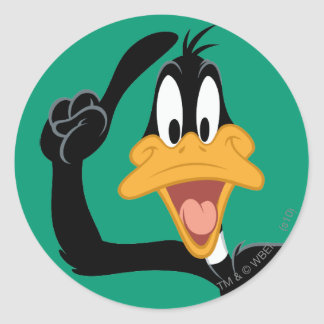 DAFFY DUCK™ With a Great Idea Round Sticker