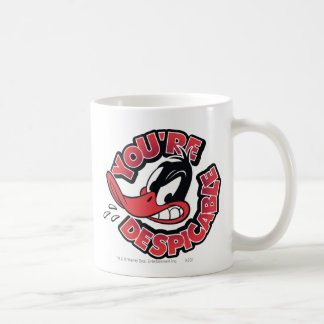DAFFY DUCK™ - You're Despicable Basic White Mug