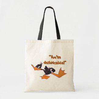 Daffy Ready to Fight Budget Tote Bag