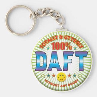 Daft Totally Key Ring