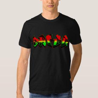 Dafuq Rasta Graffiti T-shirt. T Shirt