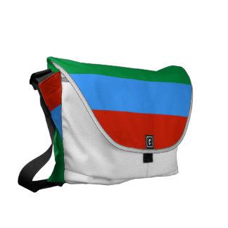 Dagestan Flag Messenger Bags