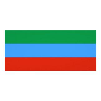 Dagestan Flag Rack Card