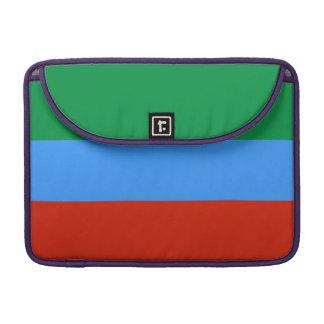 Dagestan Flag Sleeve For MacBooks