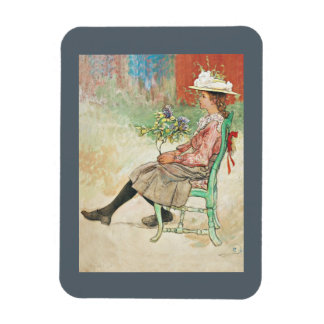 Dagmar Grill Carl Larsson Rectangular Photo Magnet