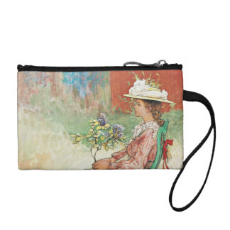 Dagmar in the Garden Coin Purses