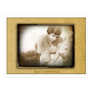Daguerreotype Reunion Postcard