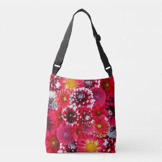 Dahias flower tote bag