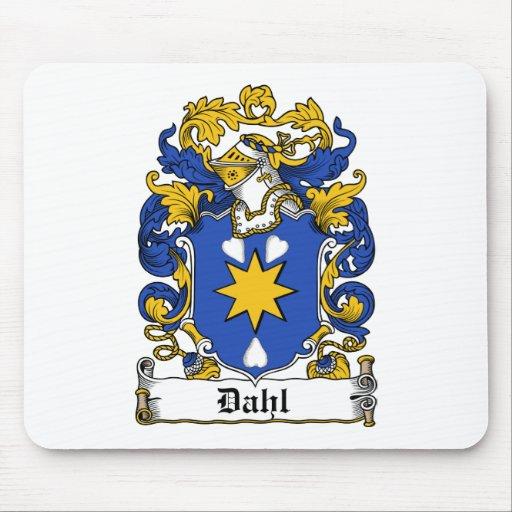 Dahl Family Crest Mouse Mats