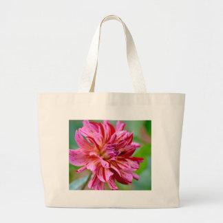 Dahlia Beauty Large Tote Bag