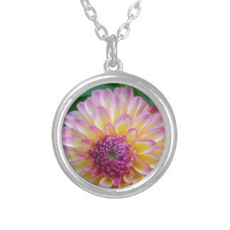Dahlia Beauty Silver Plated Necklace