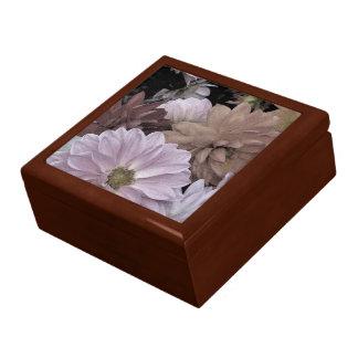 Dahlia Flower Garden Abstract Floral Gift Box