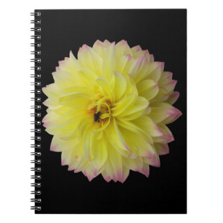 Dahlia Flower Notebook