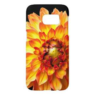Dahlia flower phone case for Samsung Galaxy S7
