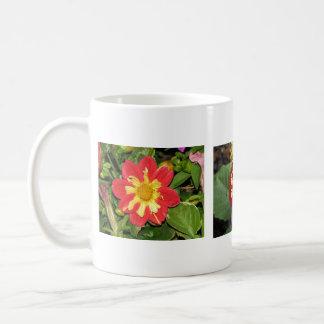 Dahlia Goldalia Scarlet Coffee Mug