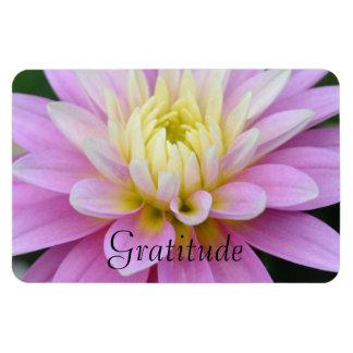 Dahlia Gratitude Magnet