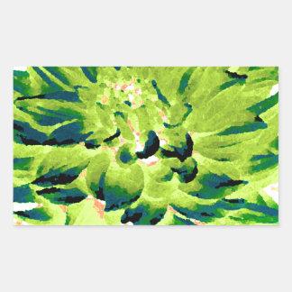 Dahlia - Honeymoon  - Earth Tone - Green Stickers