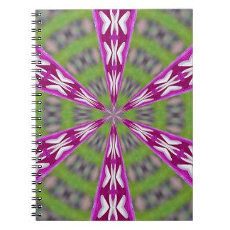 Dahlia Kaliediscope Notebook